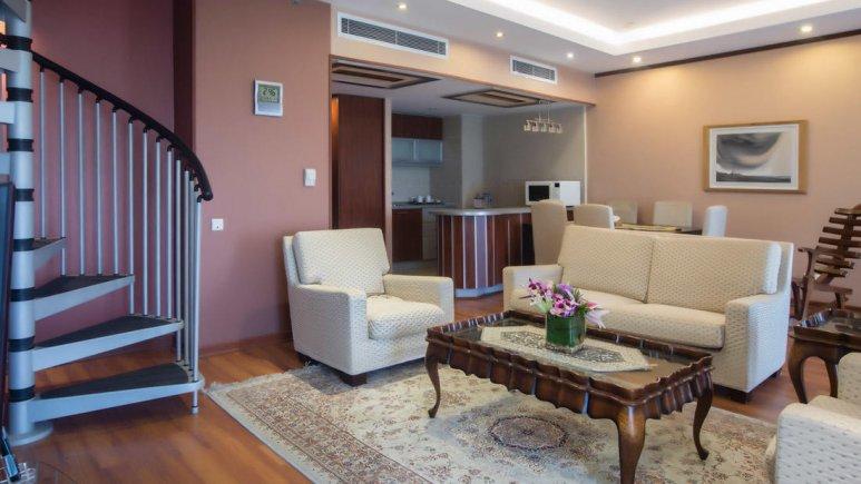 هتل پارسیان کوثر اصفهان سوئیت دو تخته دوبلکس 3