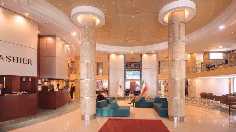 هتل پارسیان کوثر اصفهان لابی 4