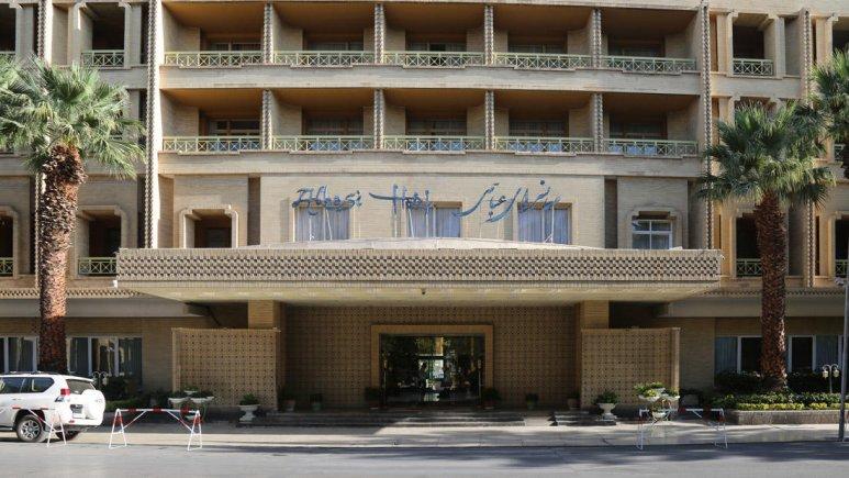 هتل عباسی اصفهان نمای بیرونی