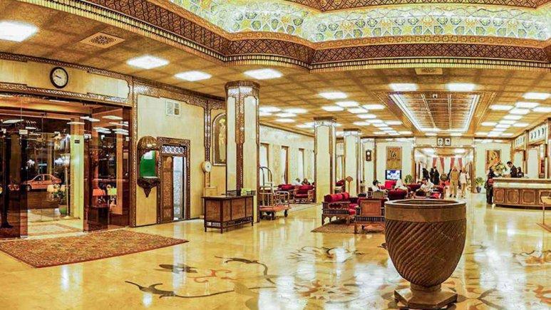 هتل عباسی اصفهان لابی