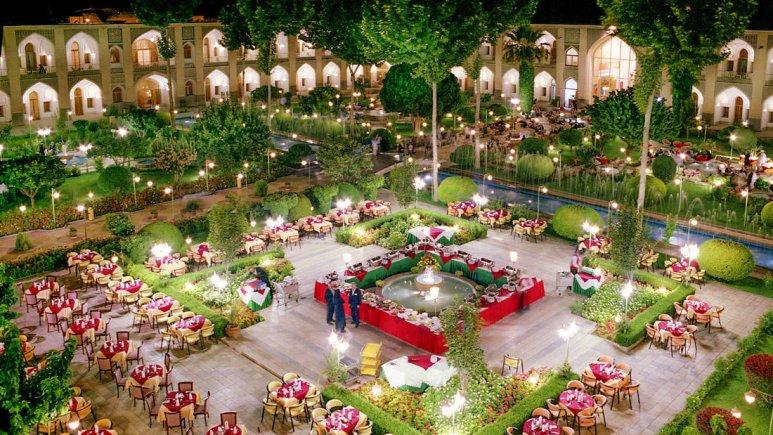 هتل عباسی اصفهان فضای داخلی هتل 1