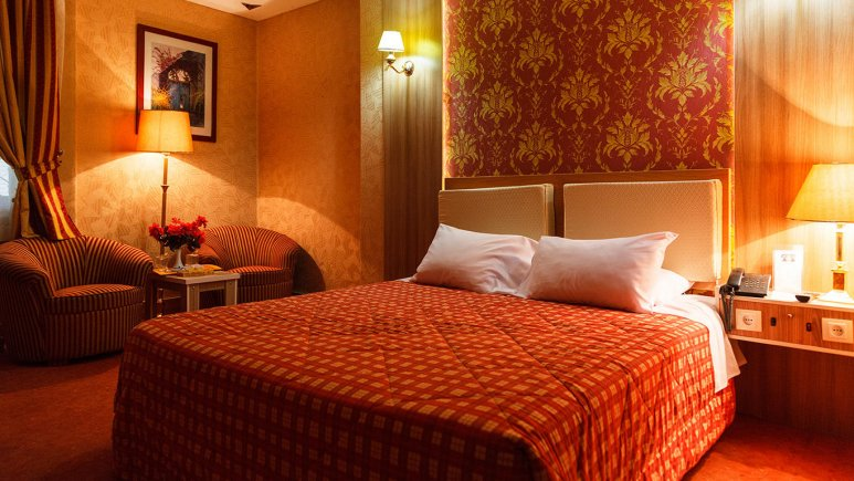 هتل پارسیان عالی قاپو اصفهان اتاق دو تخته دابل 3