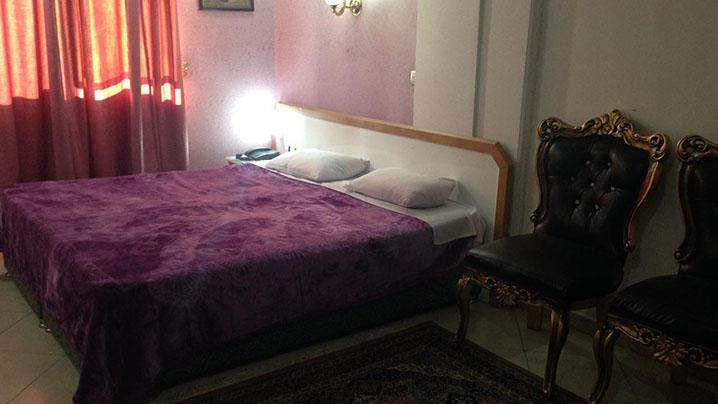 اتاق دو تخته هتل ادریس