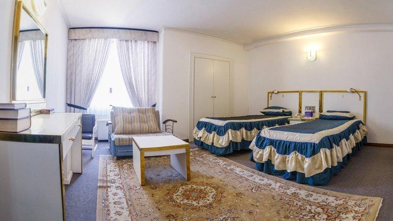 هتل لاله مشهد سوئیت دو تخته