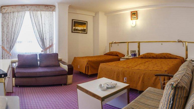 هتل لاله مشهد اتاق سه تخته 3