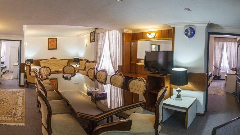 هتل لاله مشهد فضای داخلی آپارتمان ها