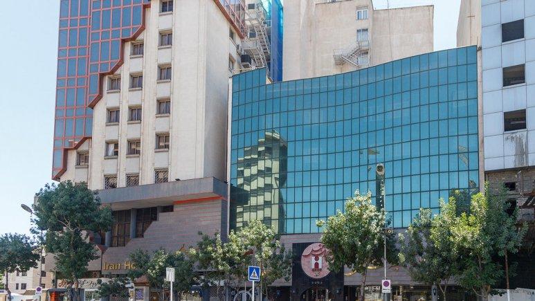 هتل ایران مشهد نمای بیرونی