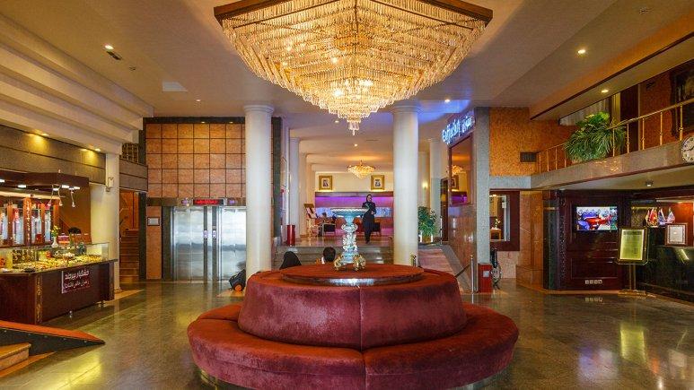 هتل ایران مشهد لابی