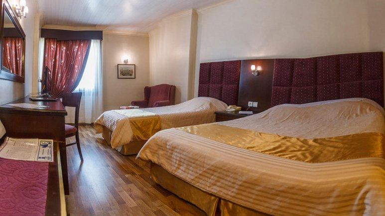 هتل ایران مشهد اتاق سه تخته