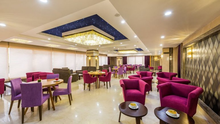 کافی شاپ هتل آرمان