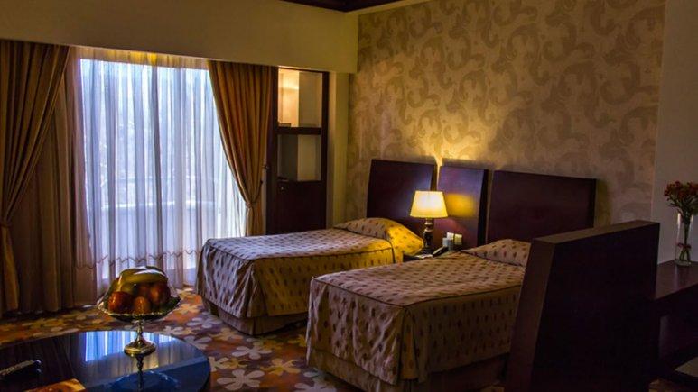 هتل هما 2 مشهد اتاق دو تخته تویین