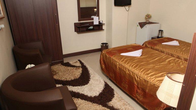 اتاق دو تخته  تویین هتل پارت
