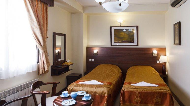 اتاق دو تخته هتل پارت اصفهان