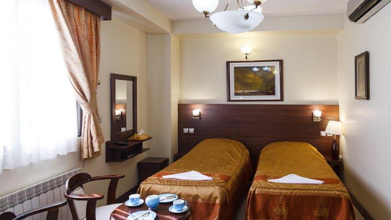 اتاق دو تخته تخته هتل پارت