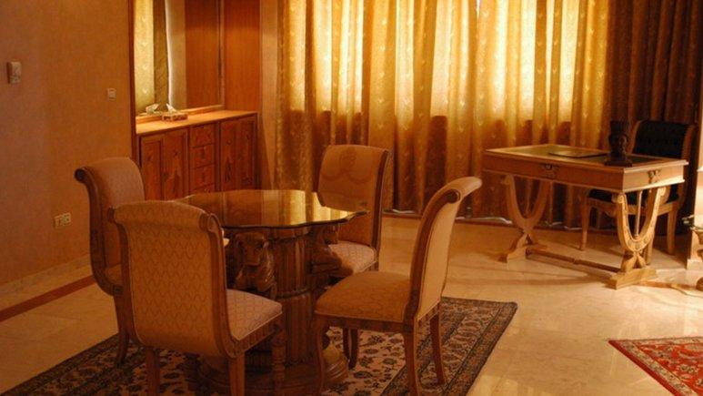 فضای داخلی هتل داریوش