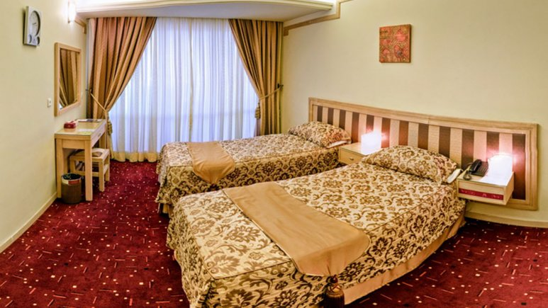 اتاق دو تخته تویین هتل امیر کبیر