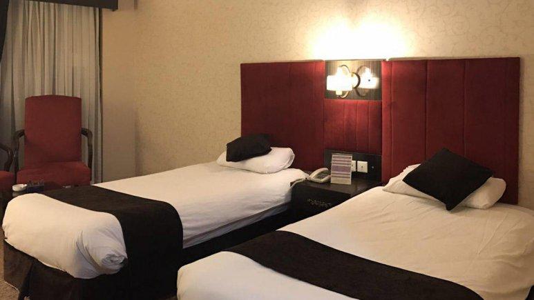 هتل هرمز بندرعباس اتاق دو تخته تویین 3