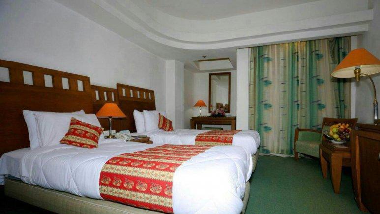 هتل هما بندر عباس اتاق دو تخته تویین