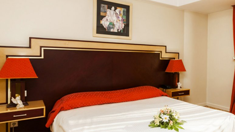 اتاق دبل هتل پارس ائل گلی