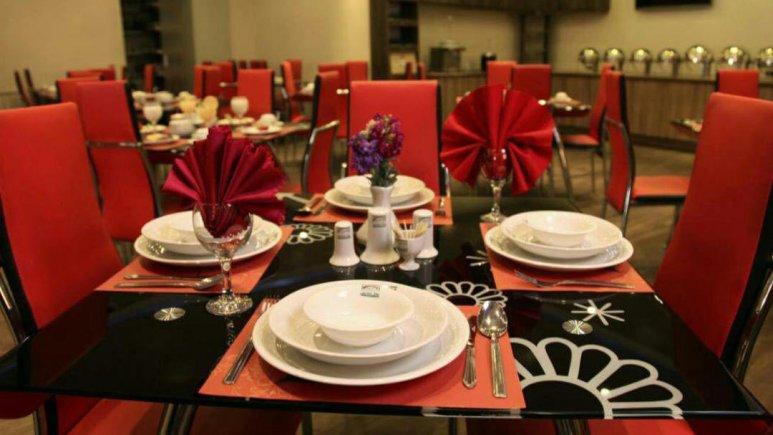 هتل آپارتمان هدیش شیراز رستوران