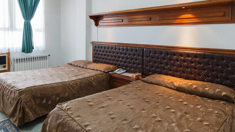 هتل پارک شیراز اتاق چهار تخته