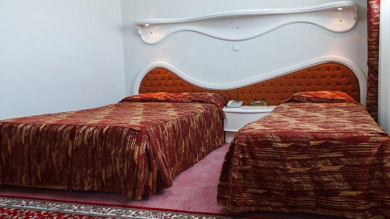 هتل پارک شیراز سوئیت سه تخته