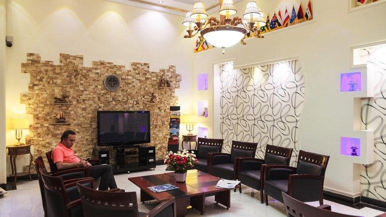 لابی هتل مرکزی ایران