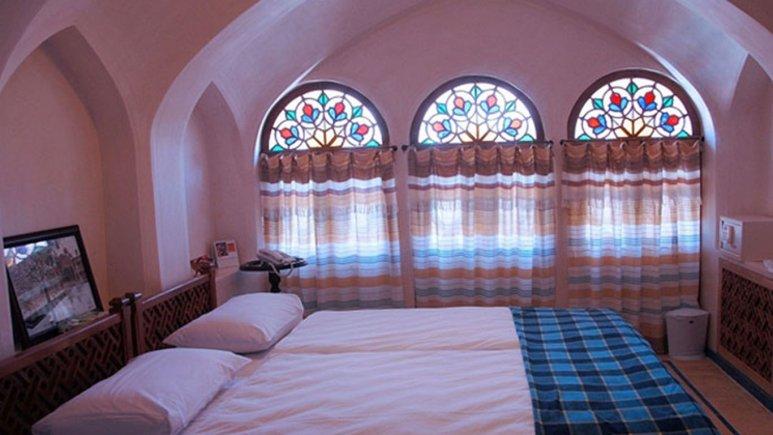 اتاق دو تخته دبل هتل مهین سرای راهب