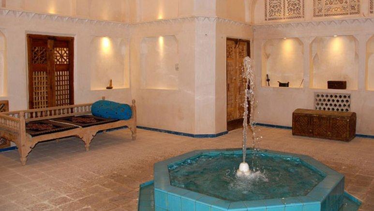 فضای داخلی هتل مهین سرای راهب