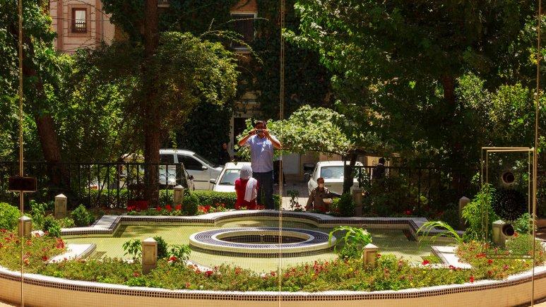 هتل فردیس تهران فضای بیرونی هتل
