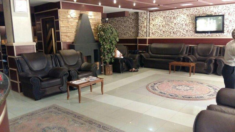 هتل ساحل ارومیه  نمای لابی