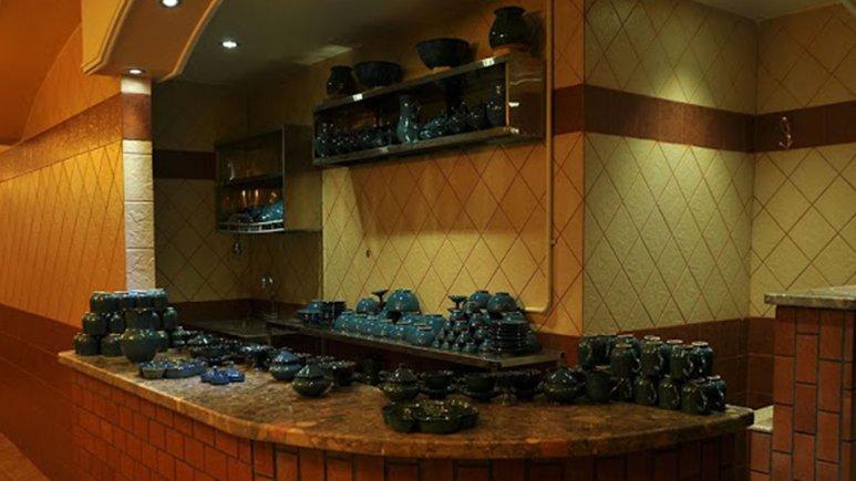 چایخانه  سنتی هتل بام