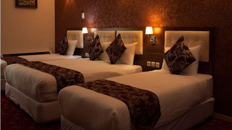 اتاق چهار تخته هتل بام