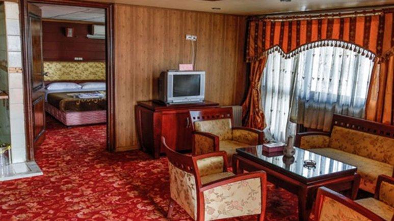 نمای اتاق هتل جهانگردی دلوار بندر بوشهر