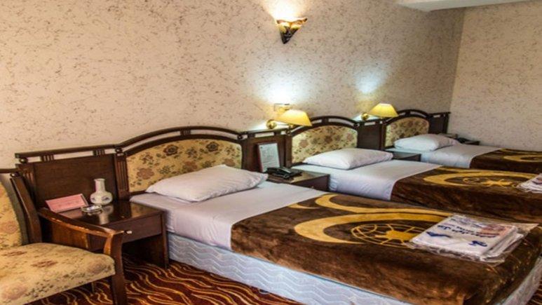 هتل جهانگردی دلوار بندر بوشهر اتاق سه تخته