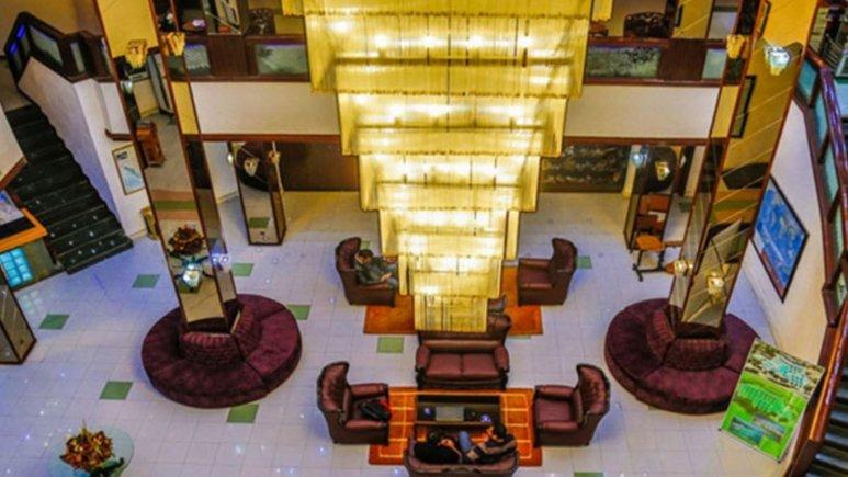 هتل جهانگردی دلوار بندر بوشهر لابی  2