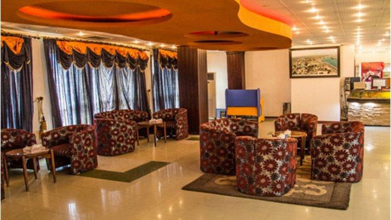 لابی هتل جهانگردی دلوار بندر بوشهر
