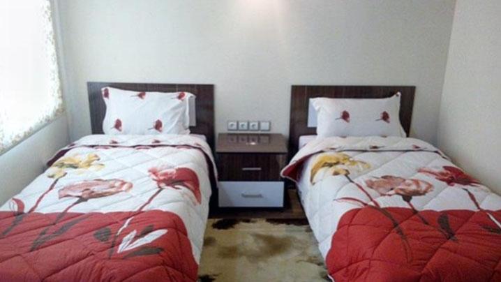 اتاق دوتخته هتل سفیدکنار