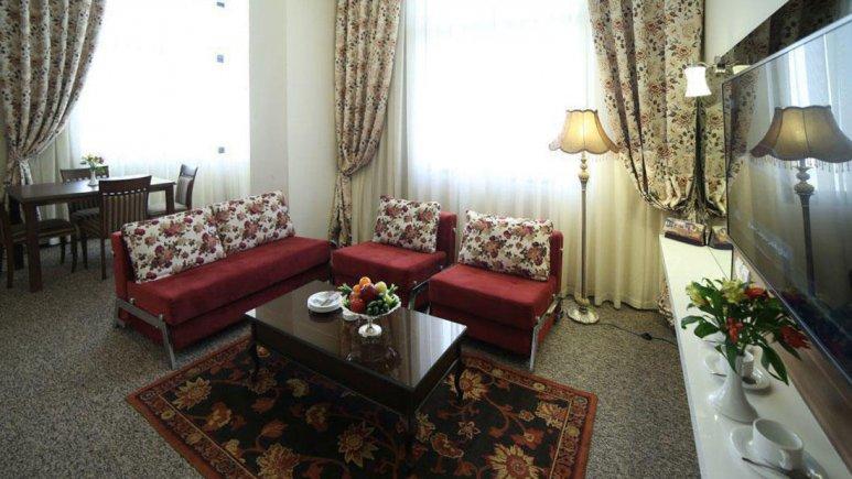هتل سی نور مشهد سوئیت یک خوابه دو تخته رضوی VIP