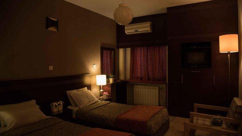 هتل رودکی شیراز اتاق دو تخته تویین