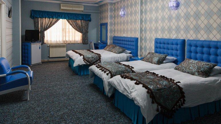 هتل پارسه شیراز اتاق چهار تخته