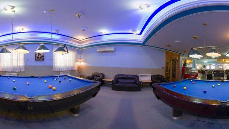 سالن بیلیارد هتل پارسه شیراز