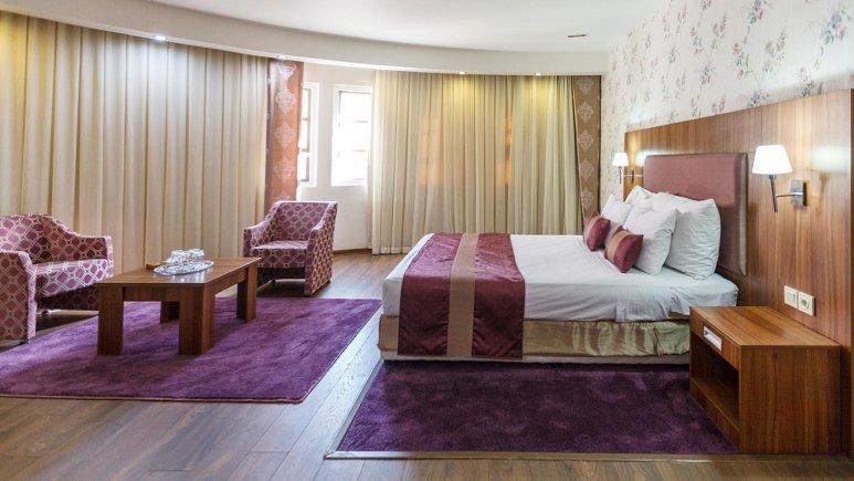 هتل پارسیان شیراز اتاق دو تخته دابل 1