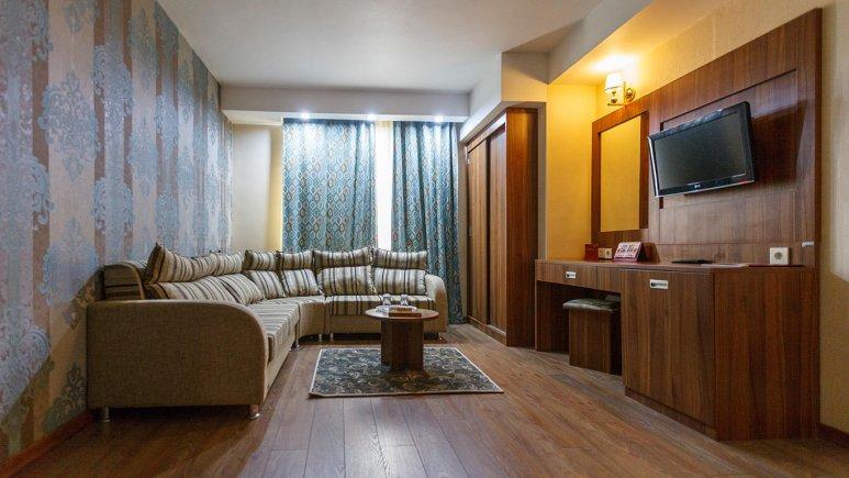 هتل پارسیان شیراز فضای داخلی اتاق ها