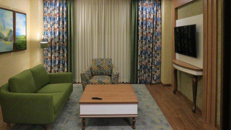 هتل پارسیان آزادی رامسر فضای داخلی اتاق ها 2