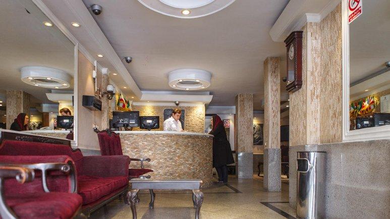 هتل پاسارگاد تهران پذیرش