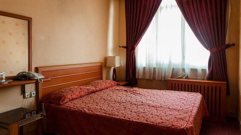 هتل پاسارگاد تهران اتاق دو تخته دابل
