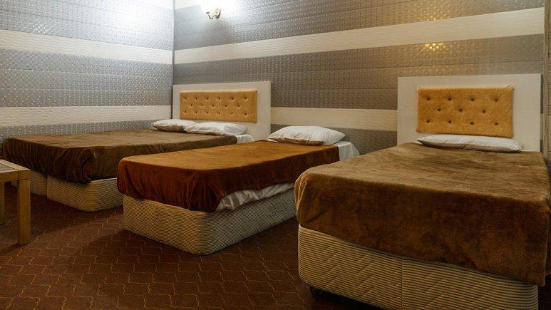 هتل نخل زرین قشم اتاق چهار تخته