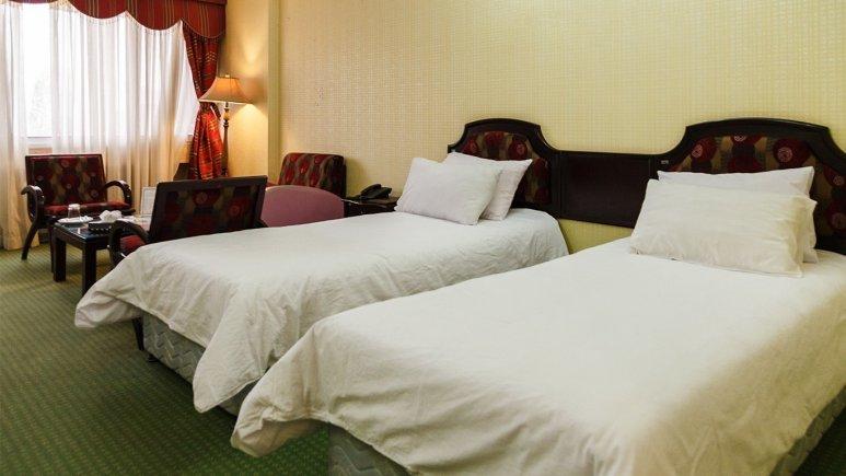 اتاق  دو تخته تویین هتل میگون