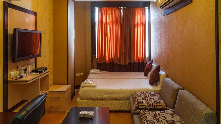 هتل کیمیا 3 قشم اتاق دو تخته تویین